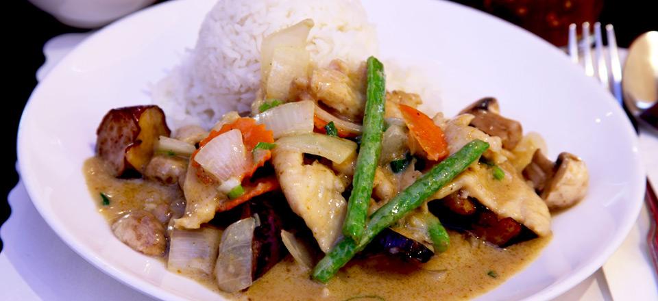 Freshly Prepared Asian Street Food